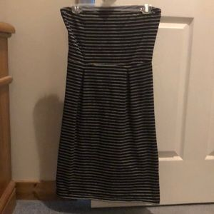Old Navy strapless dress size S tall